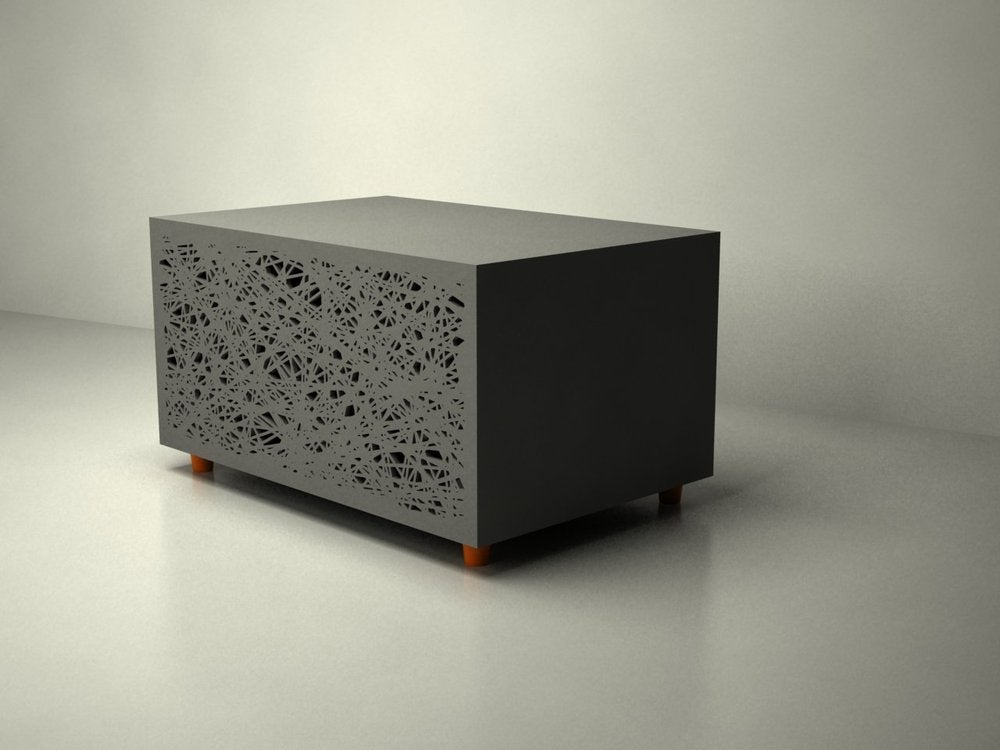 Image of Lazer cut Side Cabinet