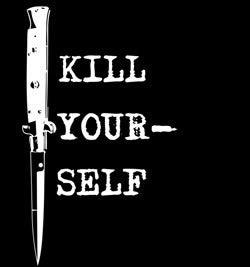 "Image of ""Kill Yourself"" Drink Koosie"