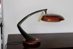 Image of 1950's fase desk lamp