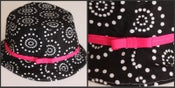 Image of Reversible Bucket Hat PDF Sewing Pattern SIZES Baby to Adult