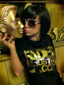 "Image of ""NEW"" Faded Industry Gold Foil Tshirt"