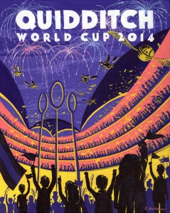 "Image of Quidditch World Cup 18""x22.5"" print"