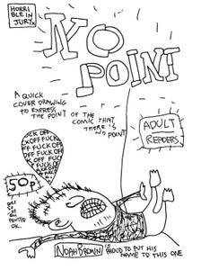 Image of NO POINT mini-comic