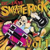 "Image of V/A ""DC-Jam Skate Rock Vol. 1"" Double CD set"
