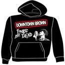 """Image of Downtown Brown """"Funks Not Dead"""" Hoodie"""