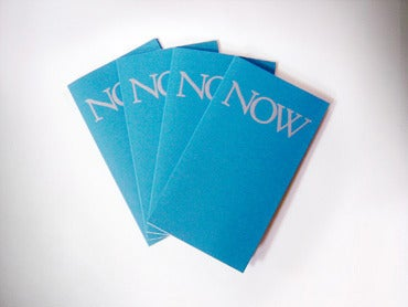 Image of NOW Issue 4 (HALL09)