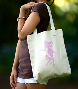 Image of Kaholo Love Tote – Pink + Sugar Glitter