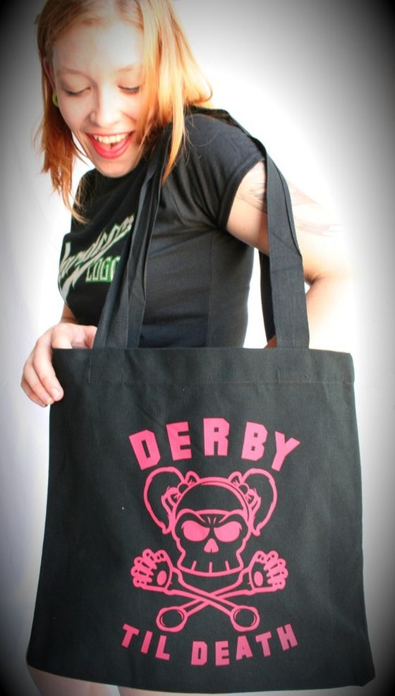 Image of Derby Til Death Tote Bag