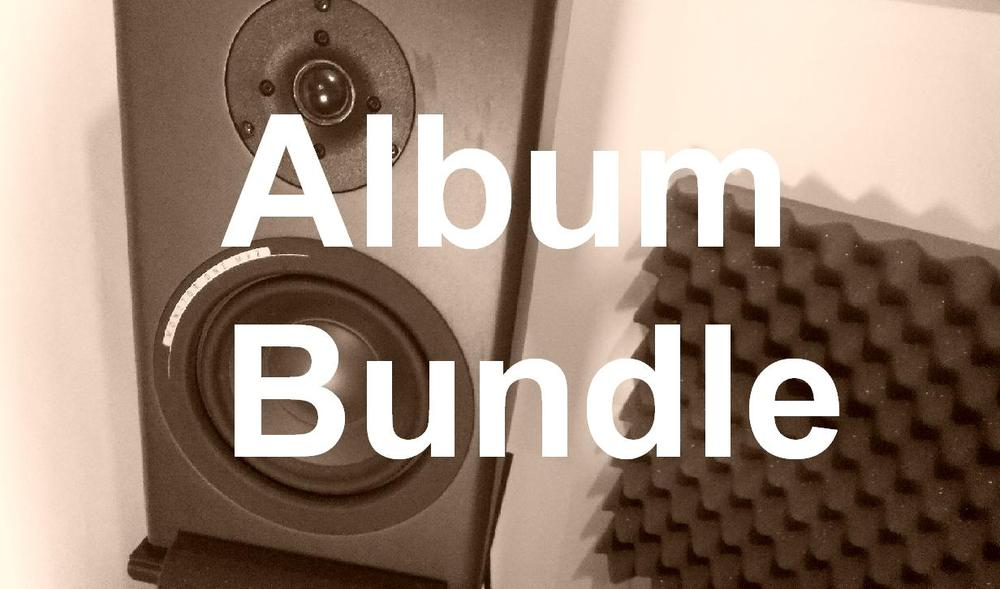 Image of Album/EP master bundles (pricing deals from £60)