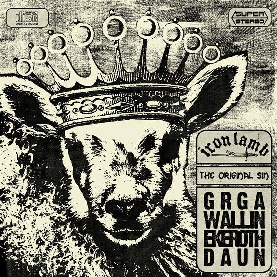 "Image of IRON LAMB ""The Original Sin"" CD"