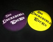 Image of The Incredible Kicks - Badges (Logo)