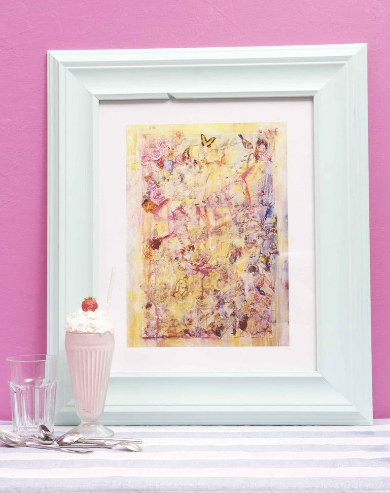 "Image of "" Sweet "" ( small size print ) cool Fine art print."