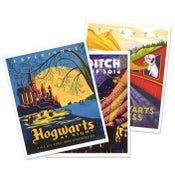 Image of Harry Potter Travel Postcards Set