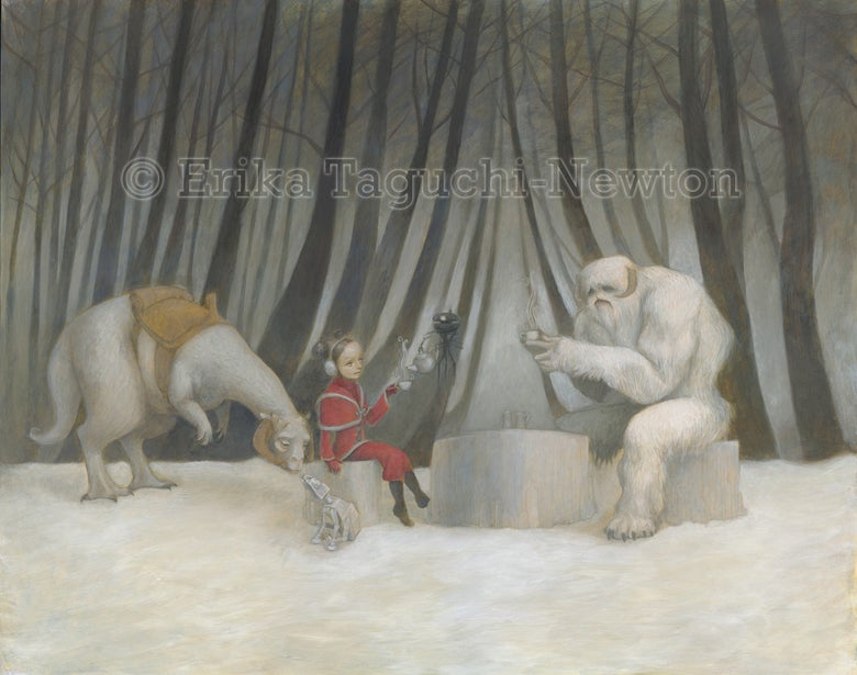 Image of Teatime with Wampa