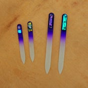 Image of Czech Crystal Nail File - purple