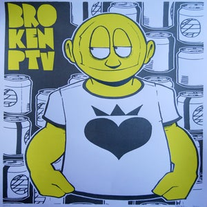 """Image of BROKE ONE - 12""""x18"""" Limited Edition Serigraph"""