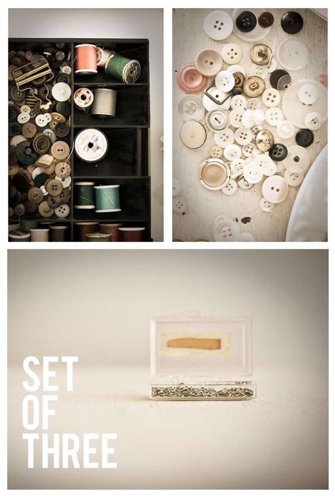 Image of sew. set of 3.