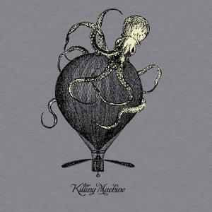 Image of Killing Machine Squid Tee (GLOWS IN THE DARK!)