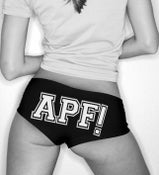 Image of APF Black Undies