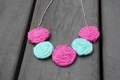 Image of Pink Seafoam Rosie Necklace