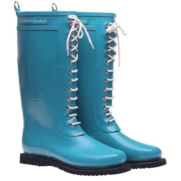 Image of Ilse Jacobsen Rubber Boots - Tall, Turquoise