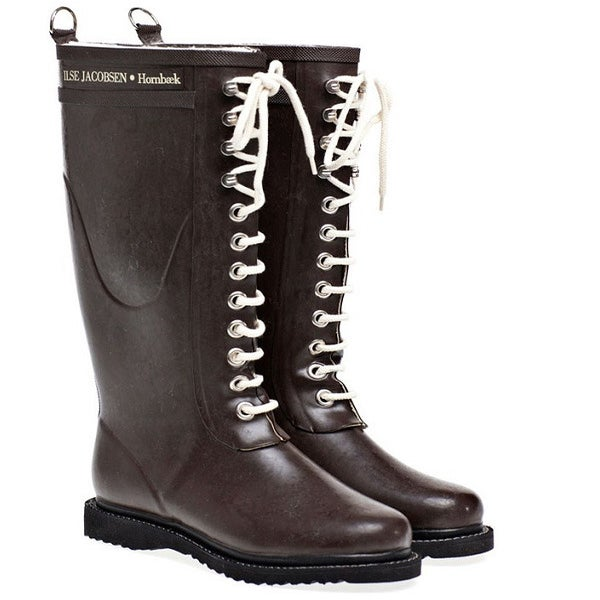 Image of Ilse Jacobsen Rubber Boots - Tall, Brown