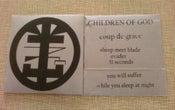 """Image of Children Of God """"Coup de Grace"""" 7"""""""