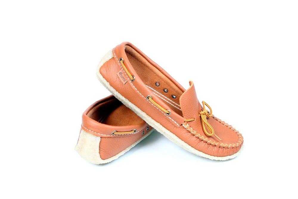 Image of // LOWTOP MOCCASINS CARAMEL