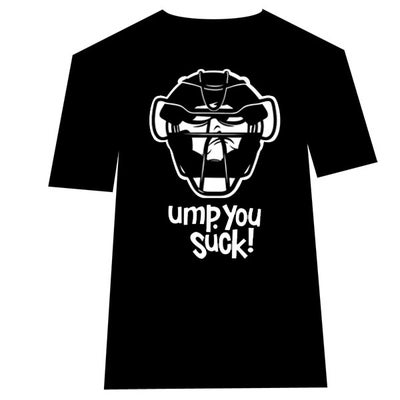Image of Ump You Suck - umpire t-shirt
