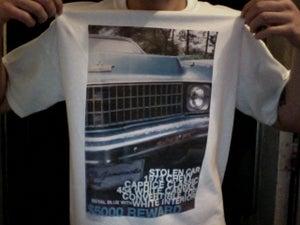Image of DAD'S CAR T-SHIRT.