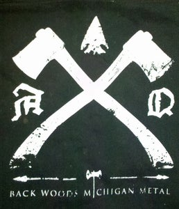 "Image of ""Back Woods Michigan Metal"" Back Patch"