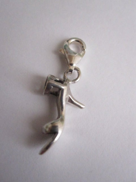 Image of Sterling Silver Shoe Charm