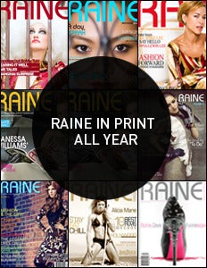 Image of Raine's Print Edition - includes a year of free digital editions