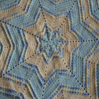 Crochet pattern for star afghan dancox for ambassador crochet textured star baby afghan crochet bankloansurffo Image collections