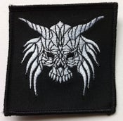 "Image of CROW ""Skull"" logo  3"" x 3"" Patch"