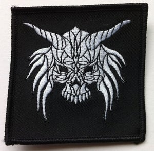 """Image of CROW """"Skull"""" logo  3"""" x 3"""" Patch"""