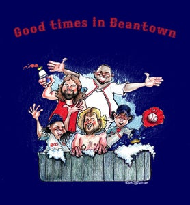 """Image of Red Sox """"Good Times in Beantown"""" Tee"""