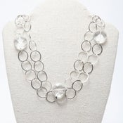 Image of Quartz Coin Necklace
