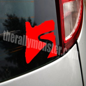 Image of Oregon Trail Rally Logo Sticker