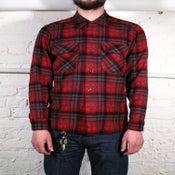 Image of Pendleton Flannel Shirt Red/Black/Grey
