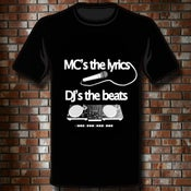 "Image of T-Shirt ""MC's & DJ's"""