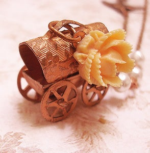 Image of The Old Gypsy Wagon necklace
