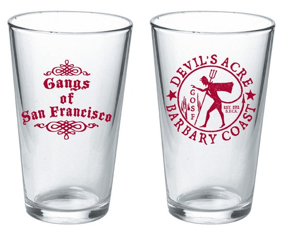 Image of Devil's Acre Pint Glass