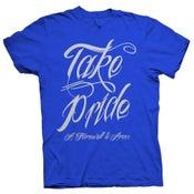 Image of Take Pride - Blue