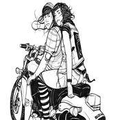 Image of Steph and Sasha Print
