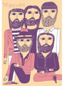 Image of Marcus Oakley 'The Beach Boys' Artwork