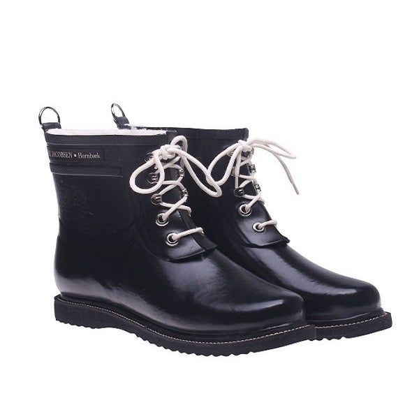 Image of Ilse Jacobsen Rubber Boots - Short, Black