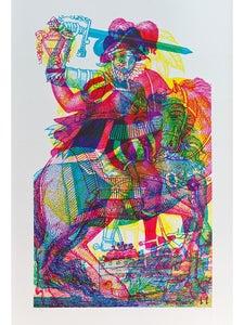 Image of Carnovsky 'Horseman No.4' artwork