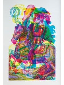 Image of Carnovsky 'Horseman No.1' artwork