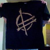 Image of Logo Shirt - Black w/ Gold Logo
